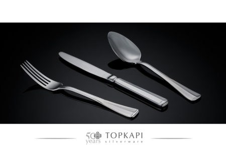 'Square' Silver plated cutlery