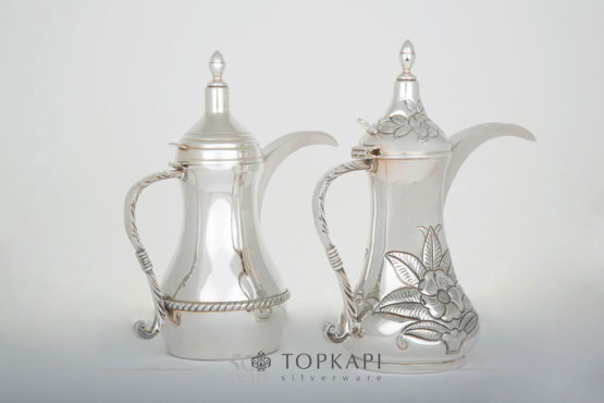 Topkapi-Oriental coffee pots (Dallah)