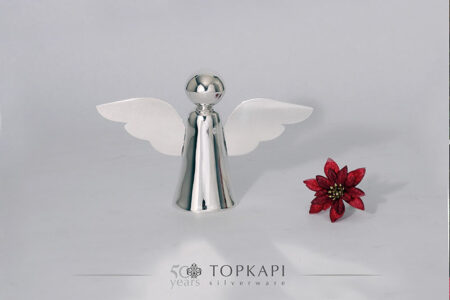 Silver plated angel (Small)