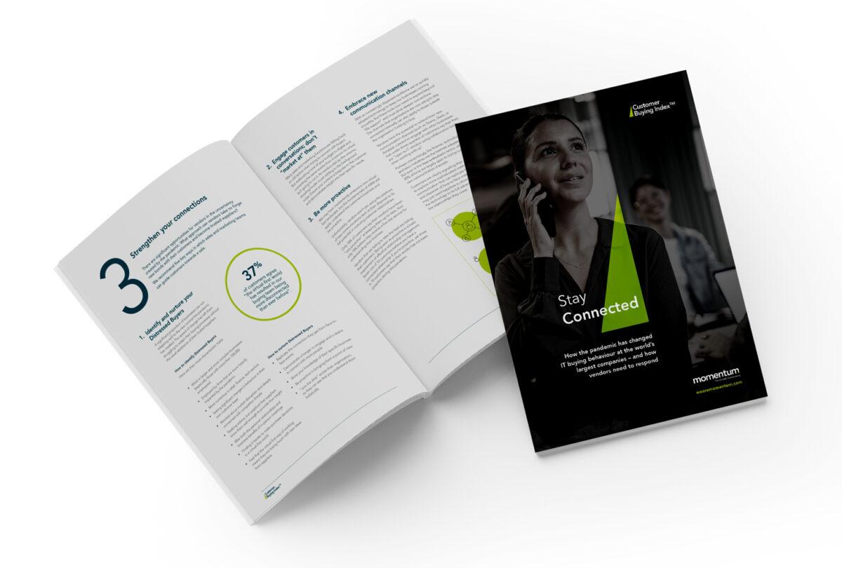The latest Momentum Customer Buying Index report, ABM, account-based marketing
