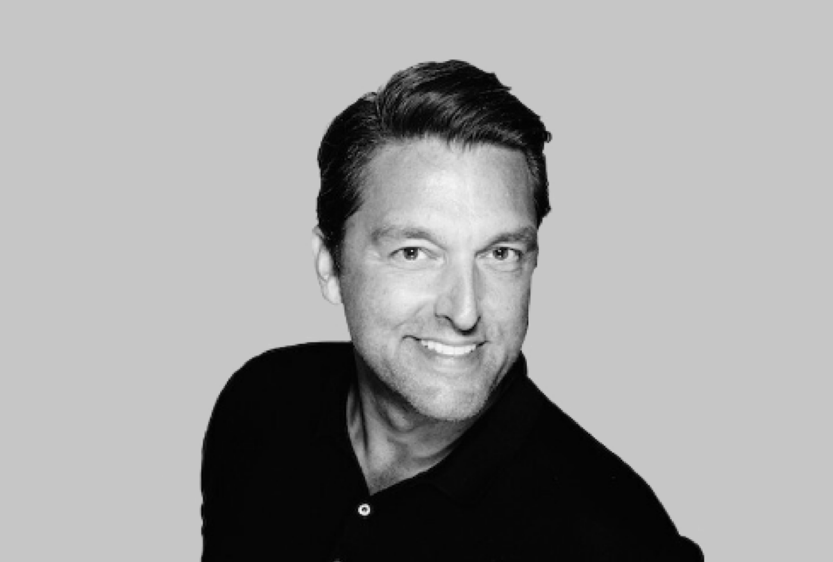 Black and white photo of Tony Miller, former Marketing VP at Disney and Marketing Director at WW