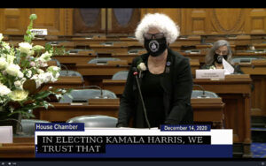 Norma Shulman nominates Kamala Harris
