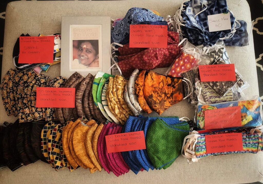 Amrita Pantry Melbourne Hand-Sewn Face Masks