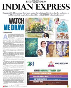 Watch Me Draw - The New Indian Express