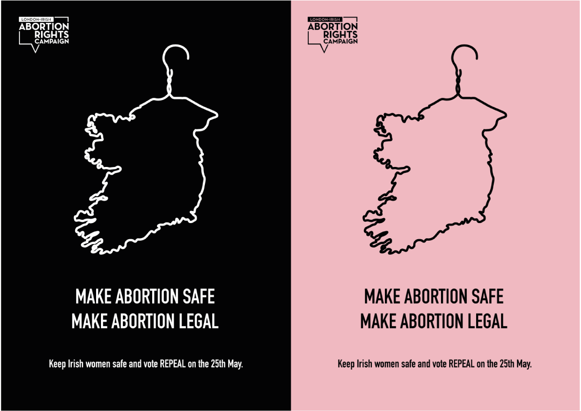 Posted Design, Abortion safe and legal