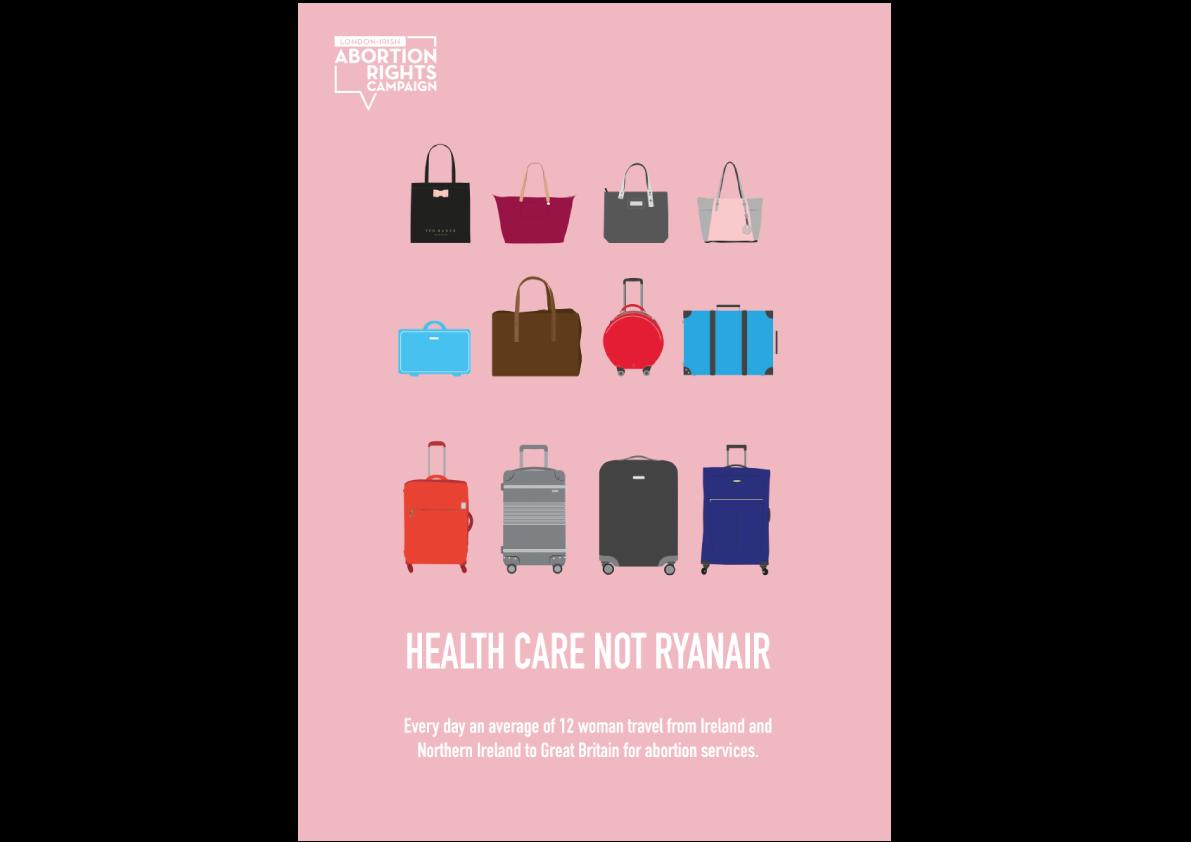 Poster Design, Healthcare not Ryanair