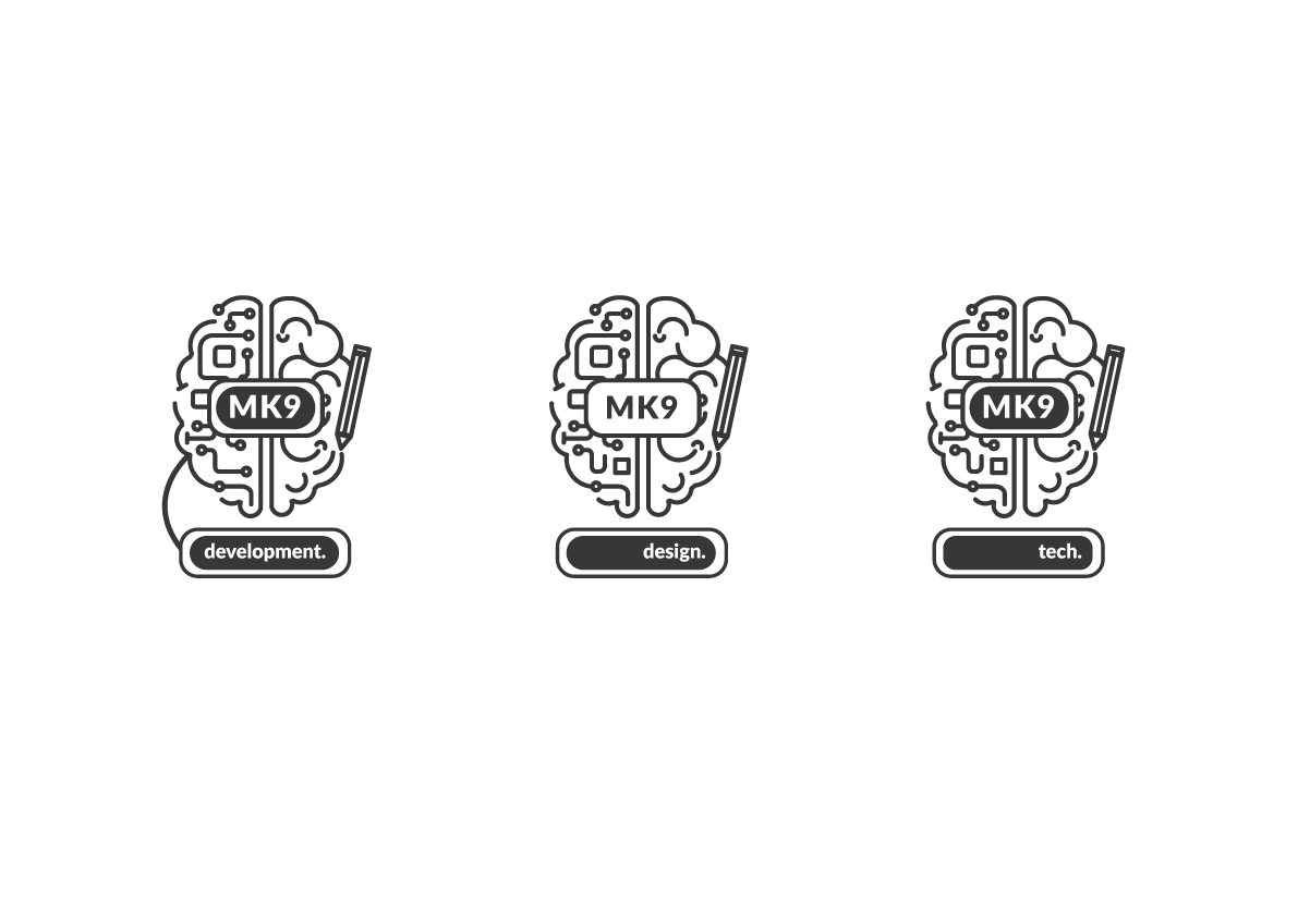 Logo Experiments, brain idea