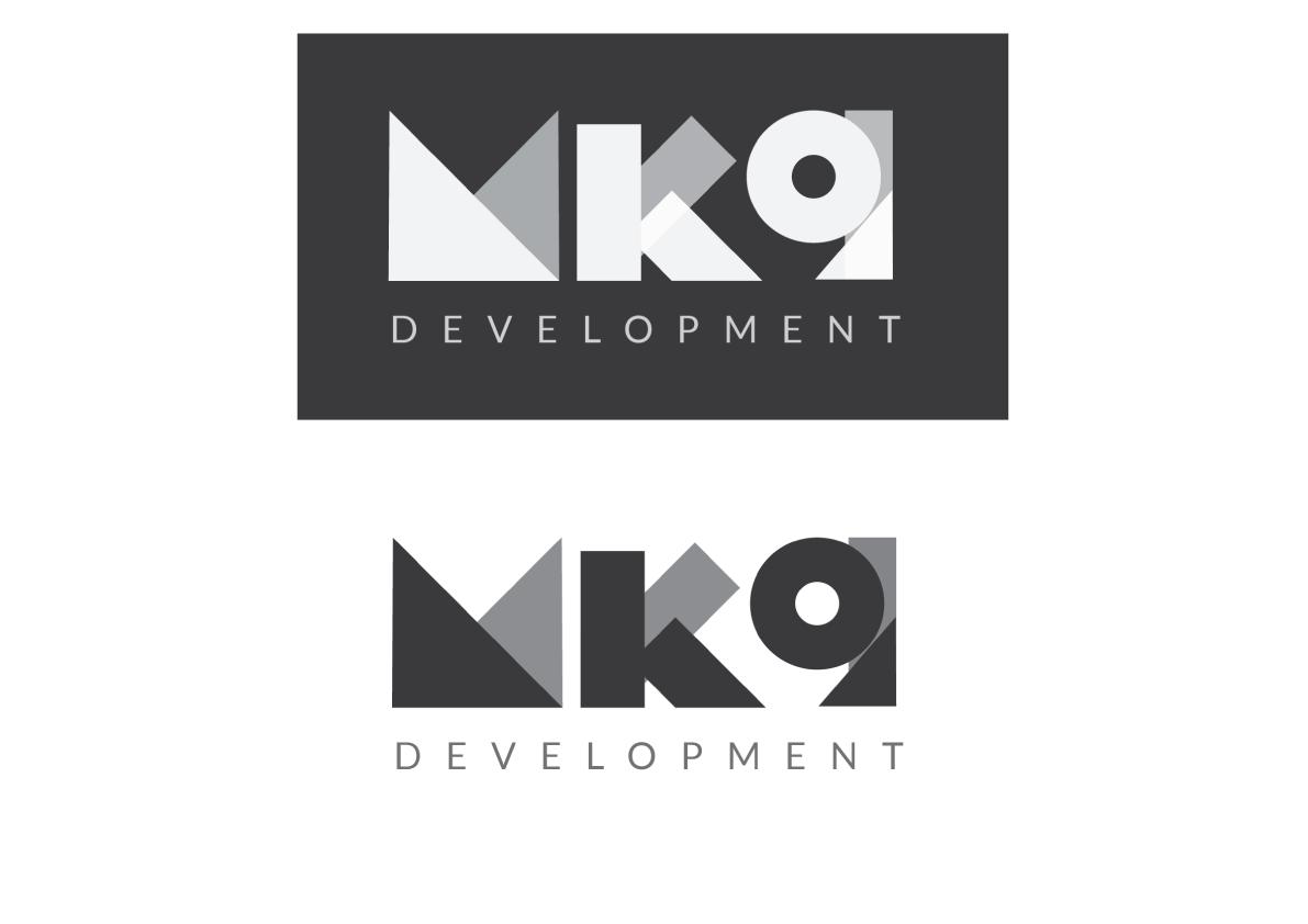 MK9 Logo Design Block Type