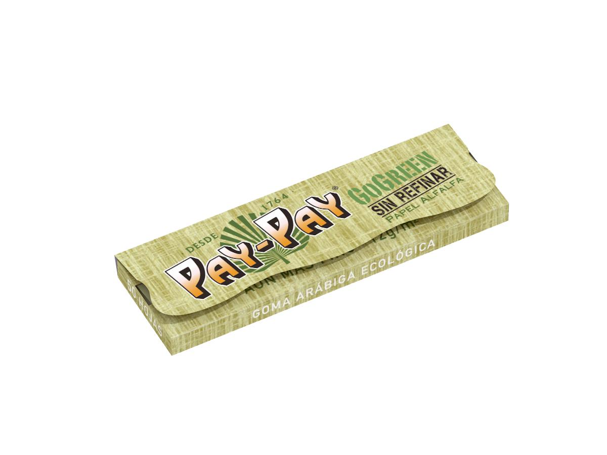 נייר אחד ו ¼ GoGreen - פיי פיי ניירות גלגול