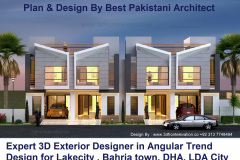 10 Marla Plan & Design By Best Pakistani Architect