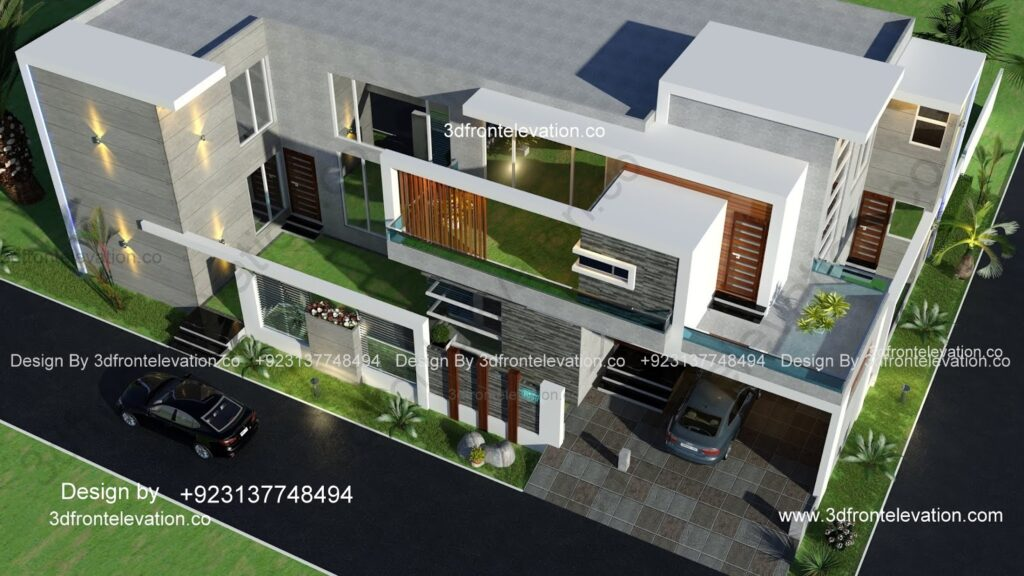 Satellite Town Rawalpindi House Plan corner