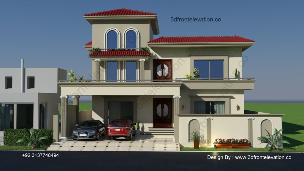 Best House Plan with Exterior Design
