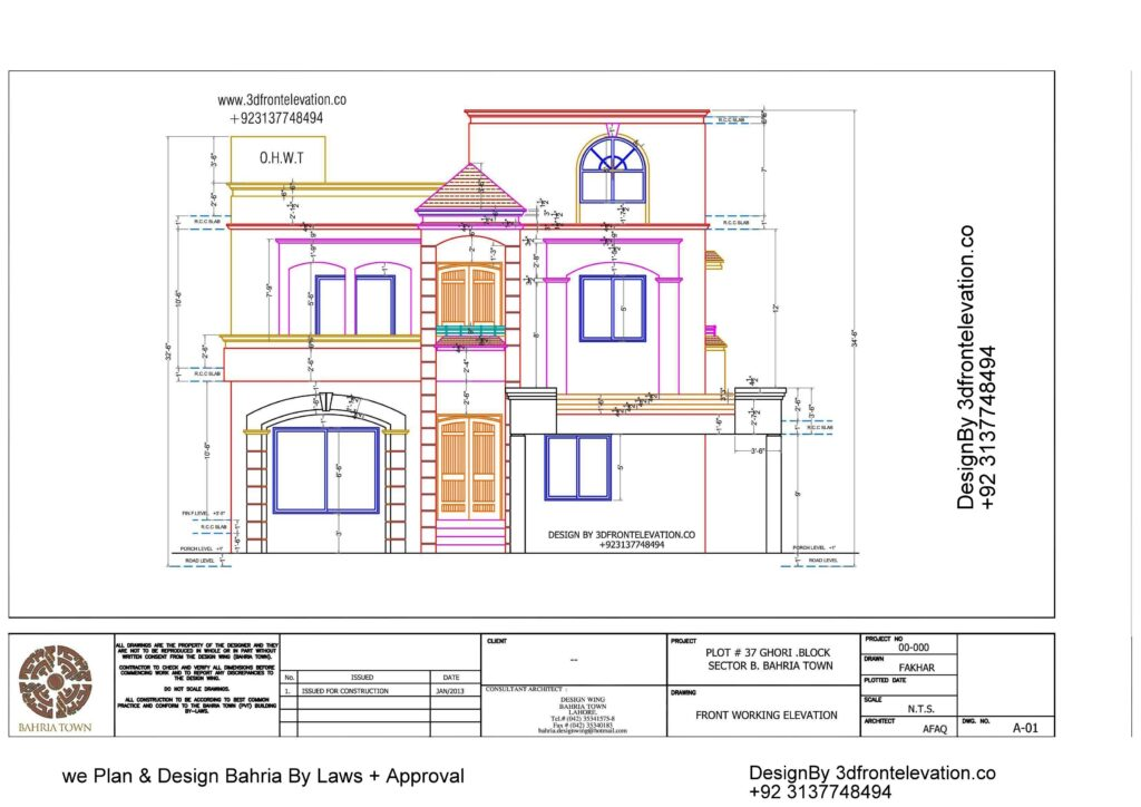 5 Best House Plan of Bahria Town with Approval Proof