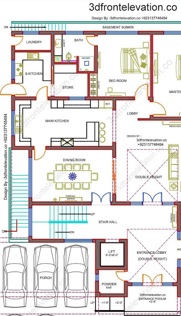 Best House Plan for Margalla View Housing Society