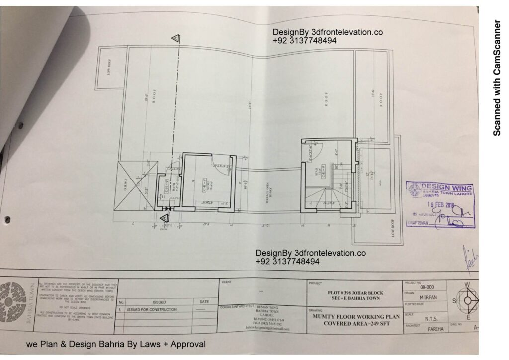 5 Best House Plan For Bahria Town with Approval Proof