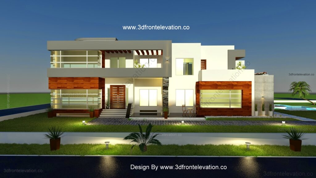 500 Square Meter Modern House Plan