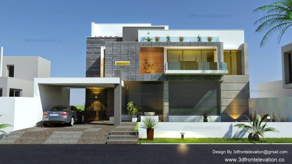 A Beautiful Modern Facade in Islambad
