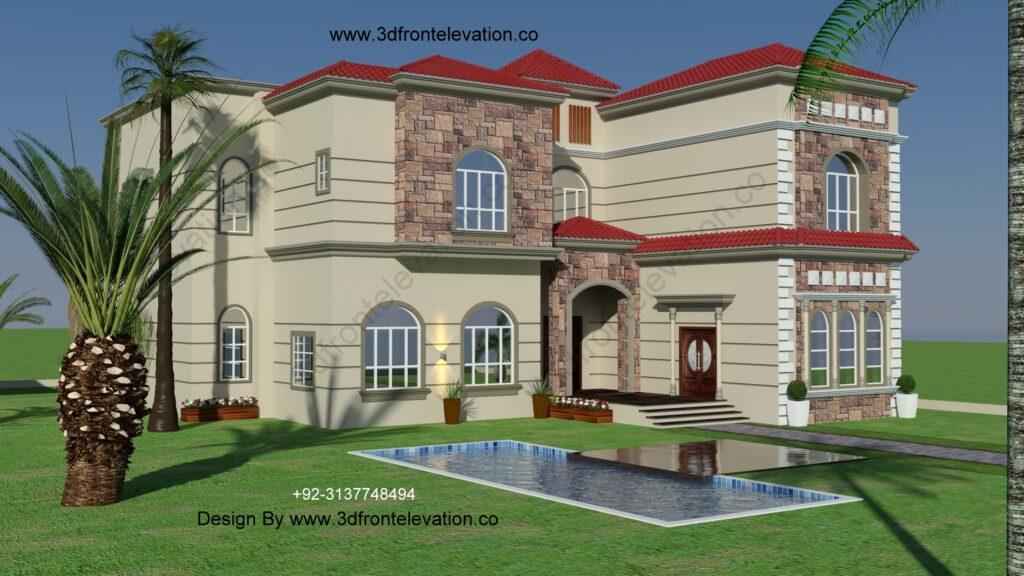 Spanish Style Villa Plans