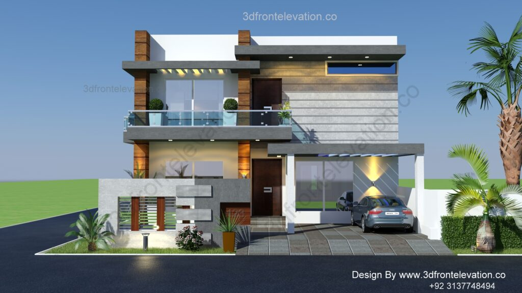 Best 10 Marla House Plan for LDA Avenu