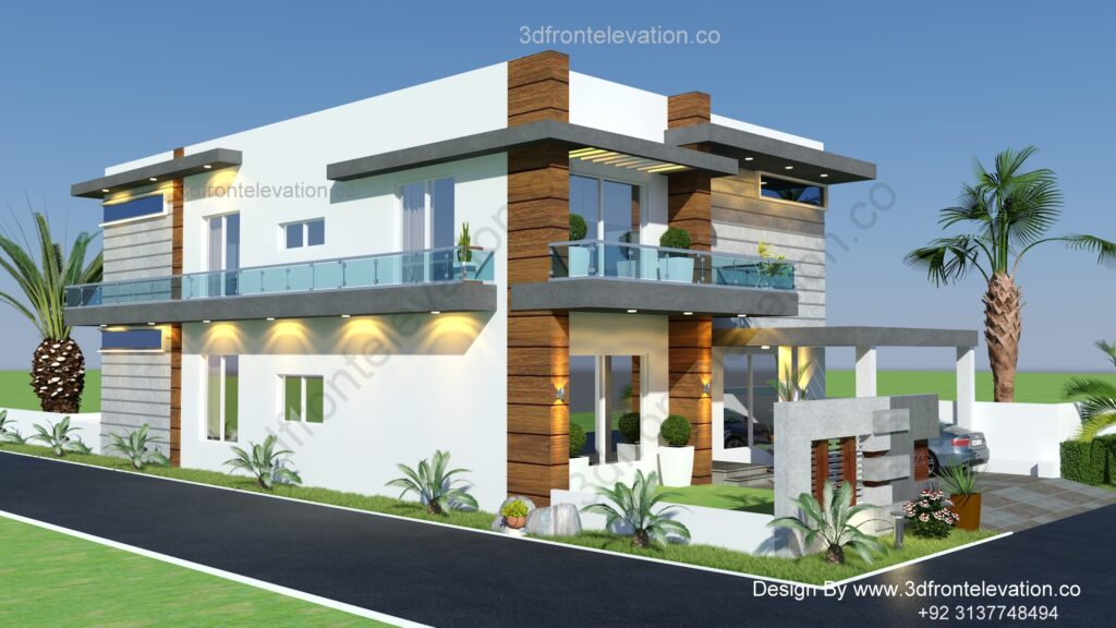 10 Marla House Plans in Up Country Enclosures Housing Society