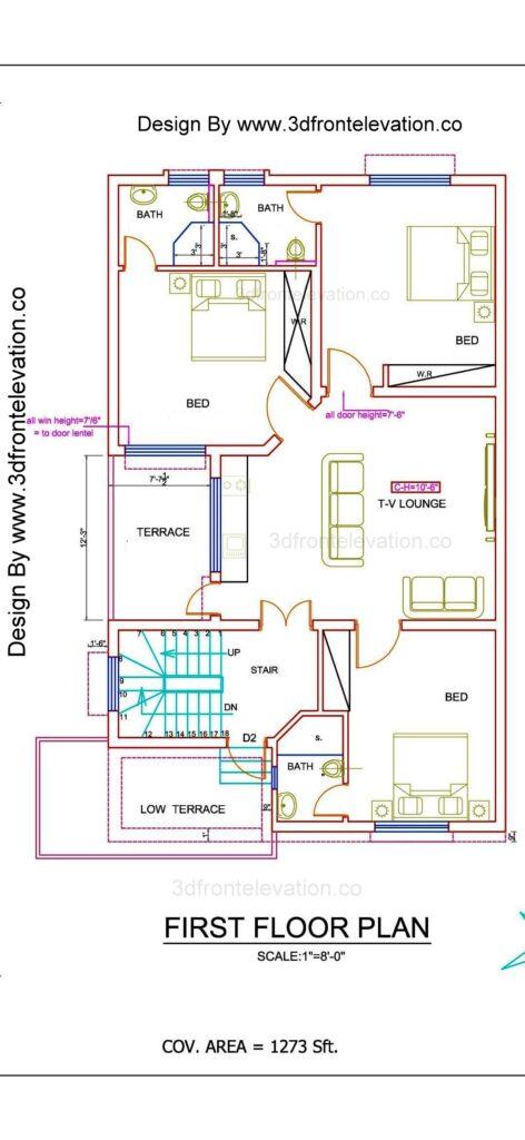 House Plan Bahria town