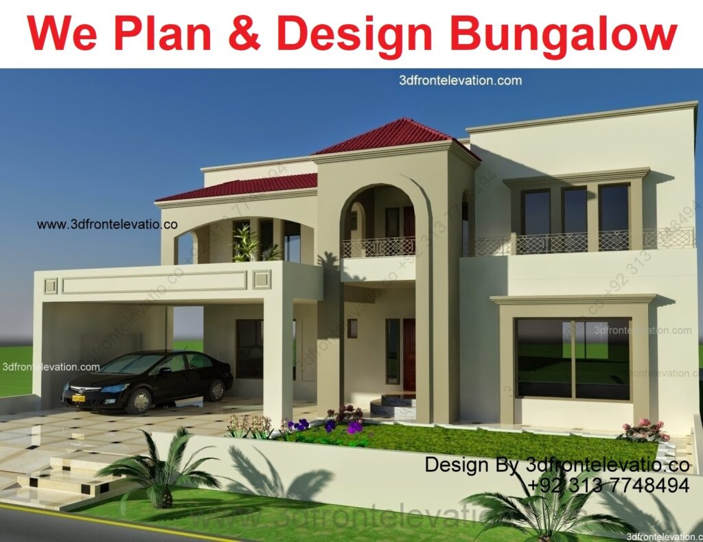 Bungalow House Design with Plans