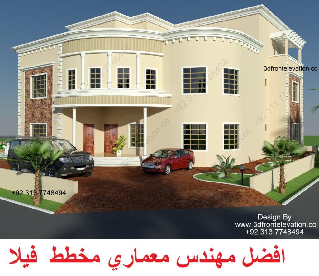 2 The Best Villa Plan and Facade Exterior Design