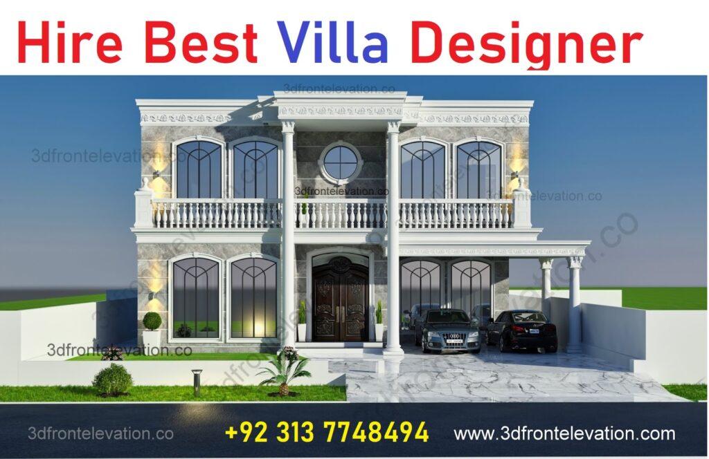 Hire Villa exterior Designer