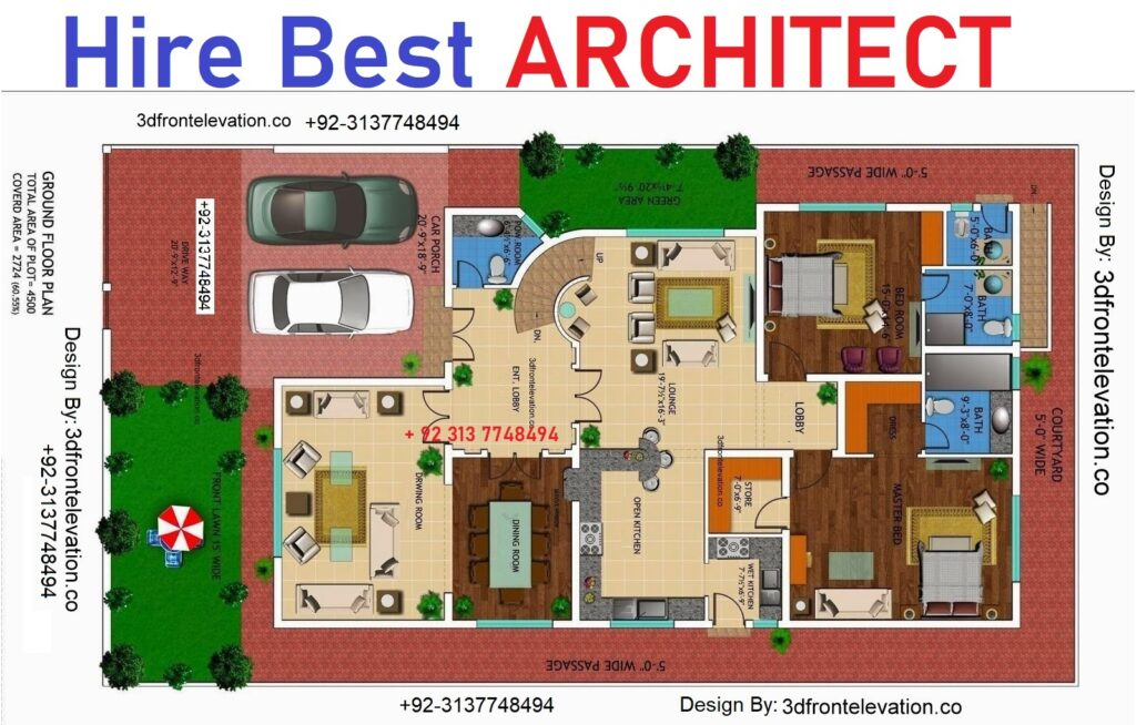 Architectural 3D Design firm in lahore, islamabad, karachi, paksitan