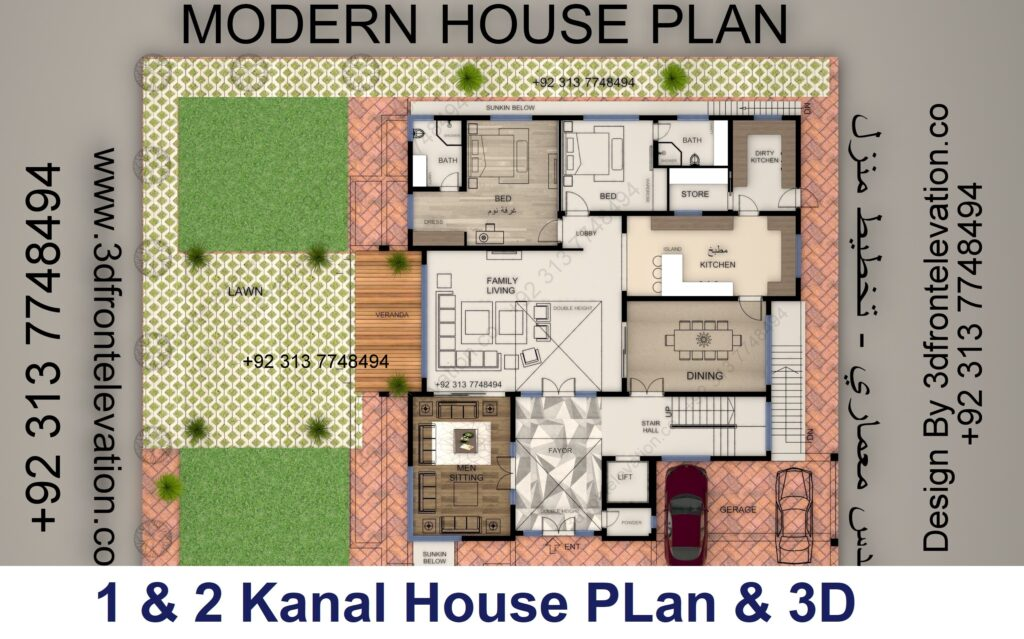 Double Family House Design