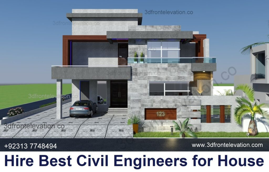 Hire Best Civil Engineers PK for House Plan