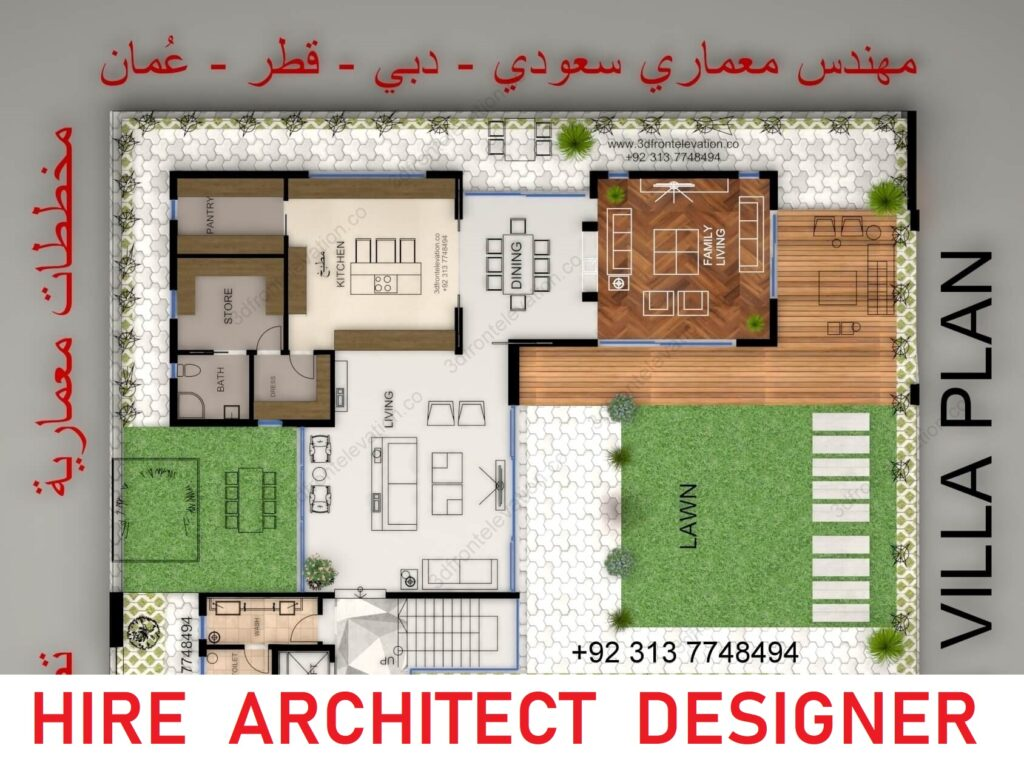 Floor Plan rendering services