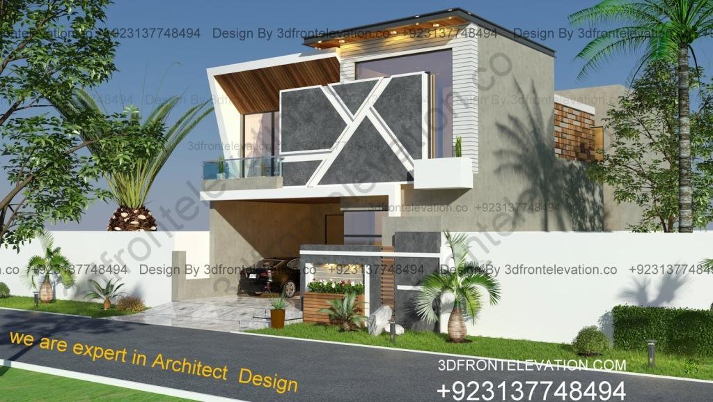 Best Small Exterior Design in Lahore, Islamabad, Karachi, Faisalabad, Kharian, Multan, Hayderabad.
