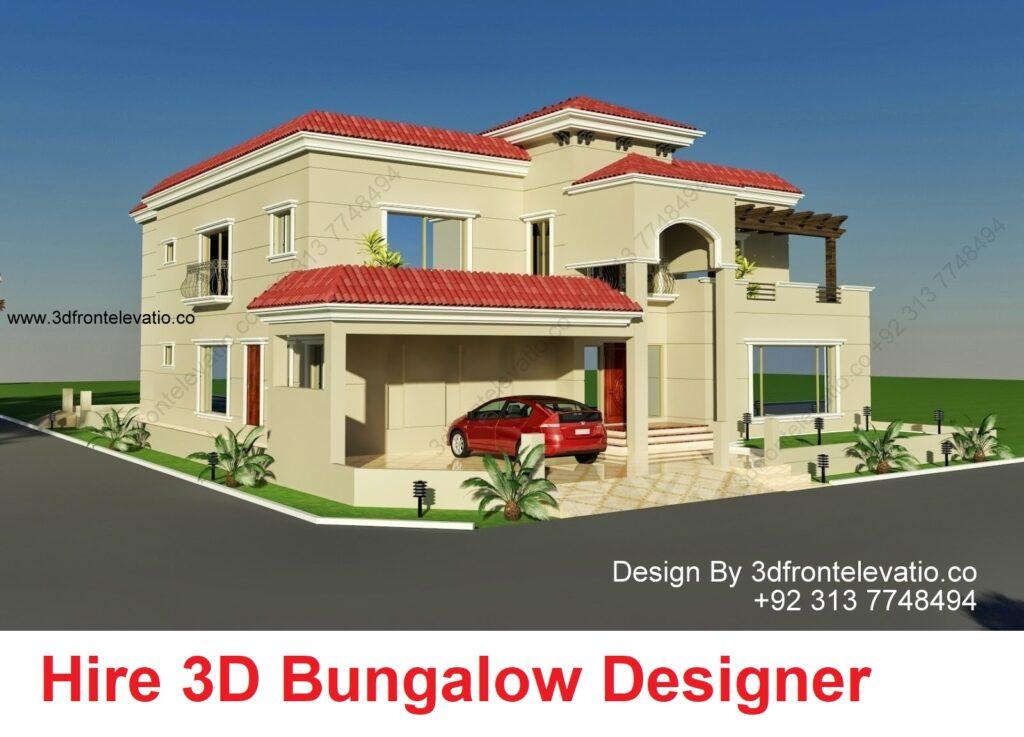 double story bungalow design