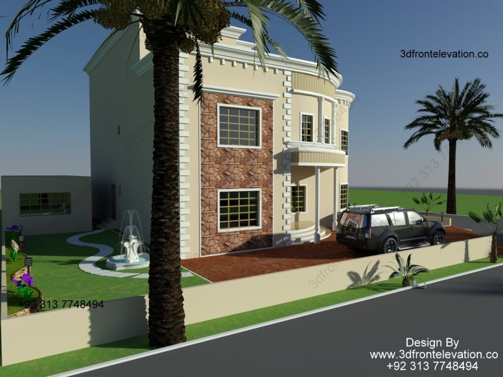 classic house facade design