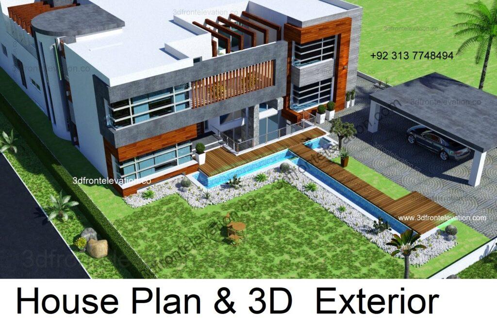 Hire Nakshewala 3D Exterior Design