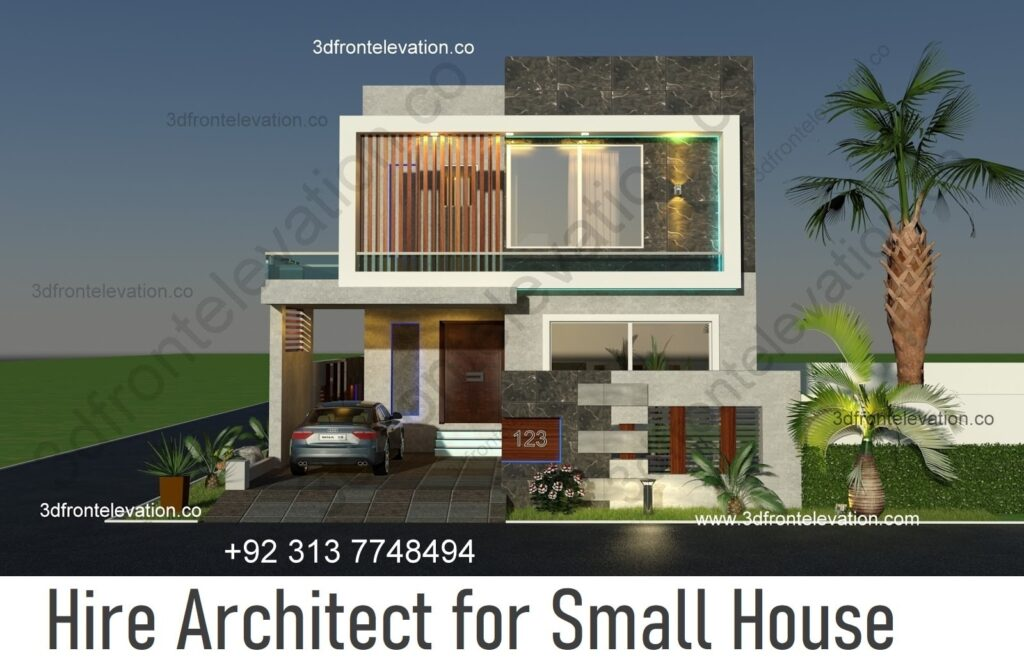 Hire Architect for Small House