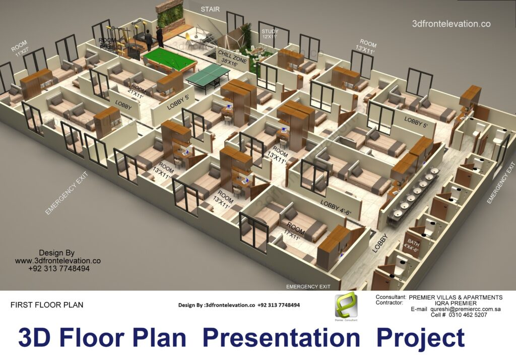 Best 3D Artist for 3D House Plan