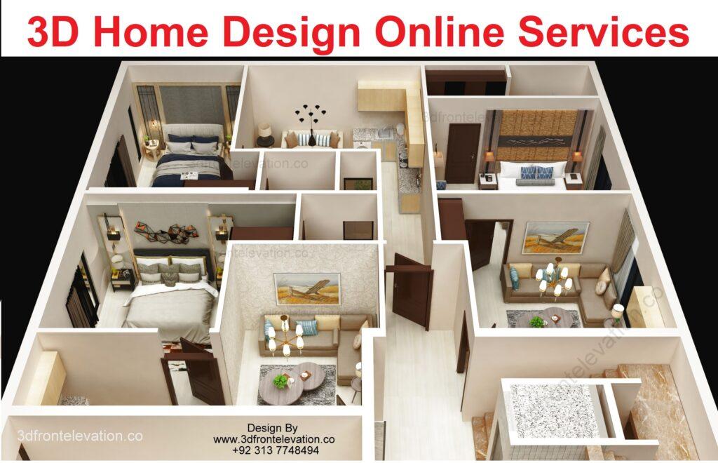 3d house plan design online