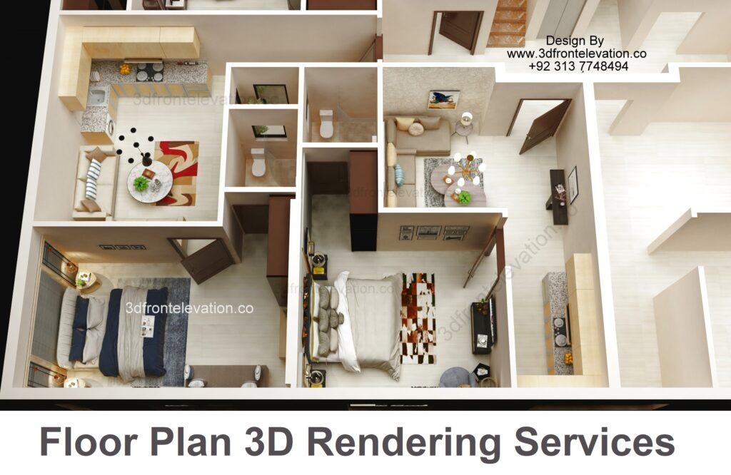 3D Floor Plan Rendering companies in dubai united states,  texas, england , germany