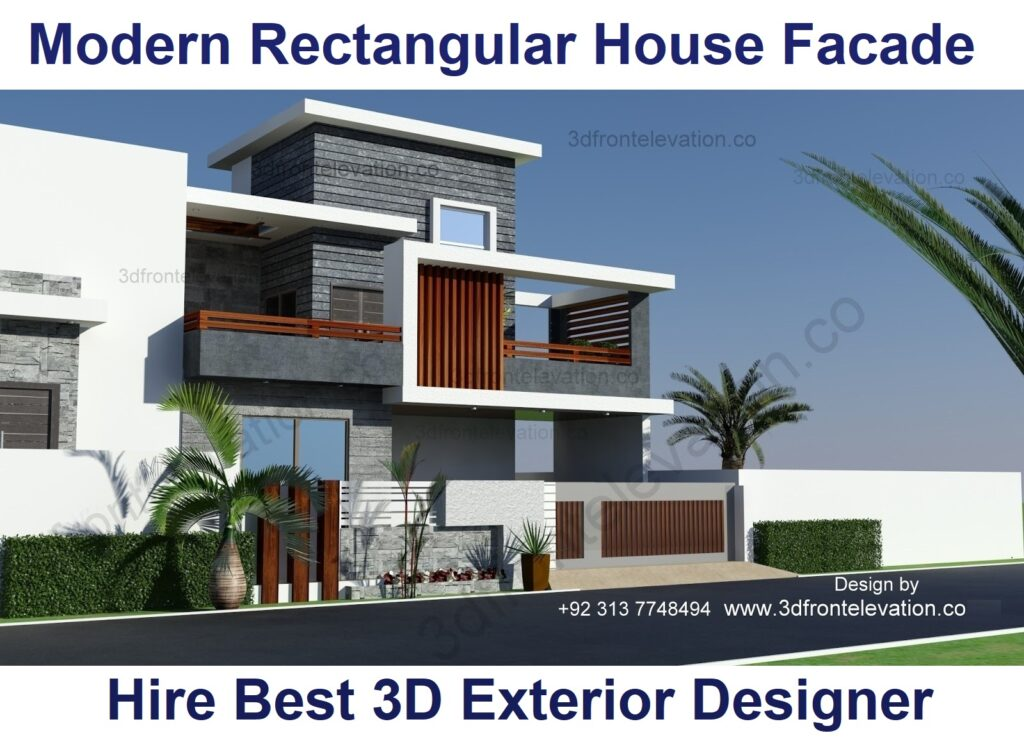 Hire Architect for L Shaped Contemporary House Design