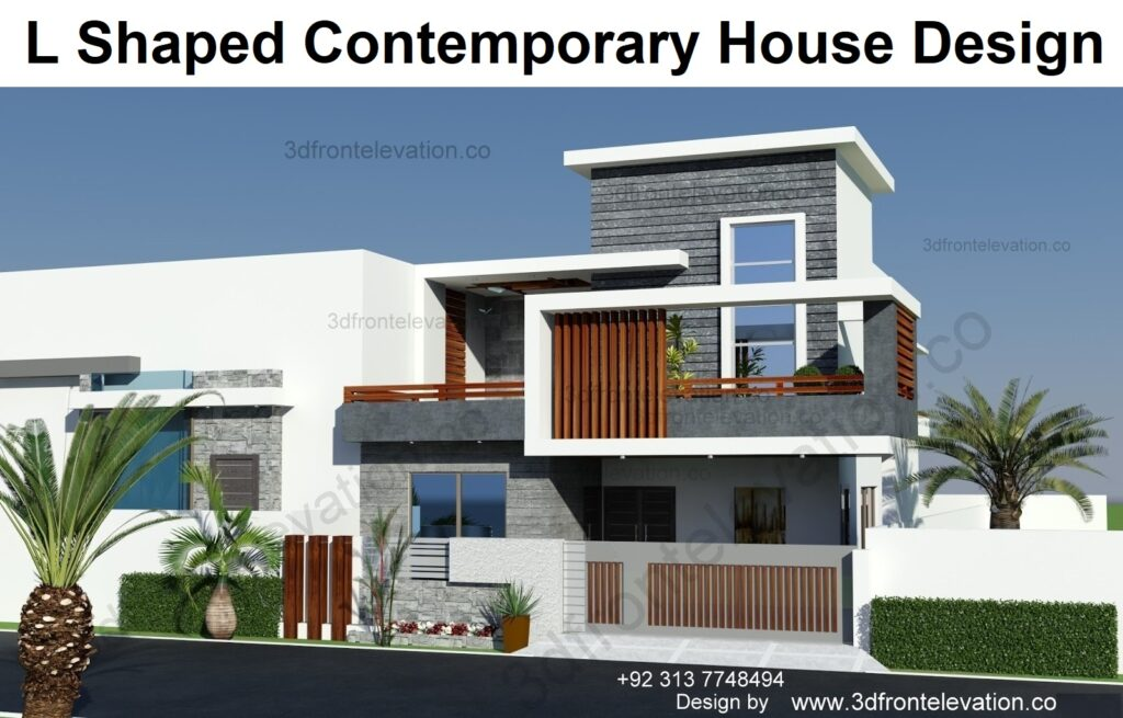 2 Best Way To Hire Architect For L Shaped Contemporary House Design