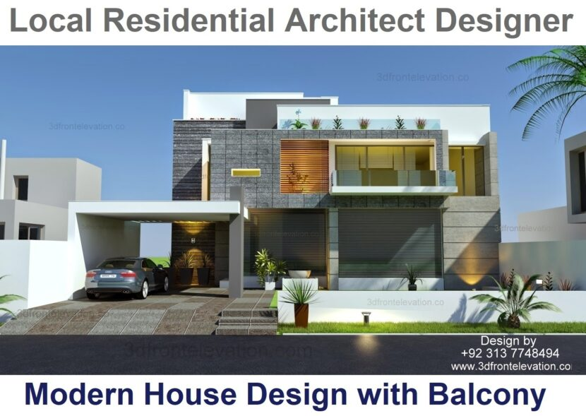 3 Best Australian House Design With Balcony By Local Residential Architect