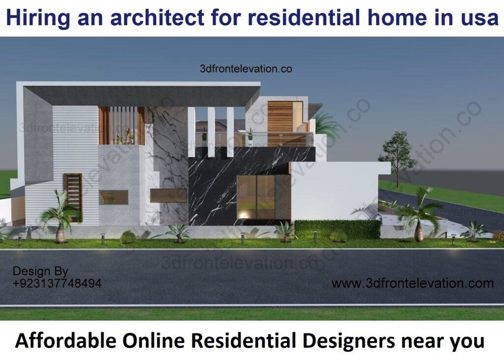 Hiring an architect for residential home in usa
