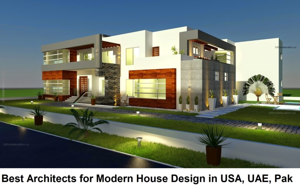500 Square Meter Modern Contemporary House Plan