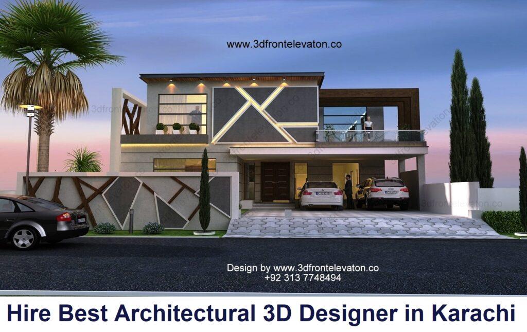 Hire Best Architectural 3d Designer in karachi