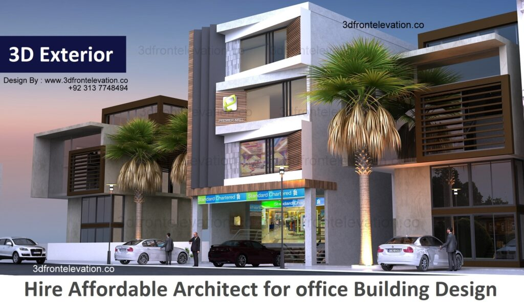 Hire Affordable Architect for office Building Design