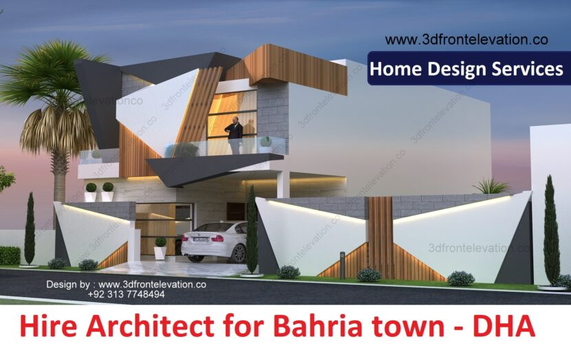Hire Architect for Bahria Town, dha