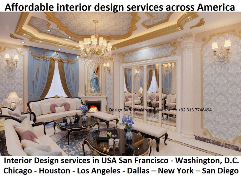 Best interior design services in San Francisco - Washington, D.C. - Chicago - Houston - Los Angeles - Dallas – New York – San Diego -  The Best interior design company in USA UAE UK Canada   Dubai Texas Nyc Montreal