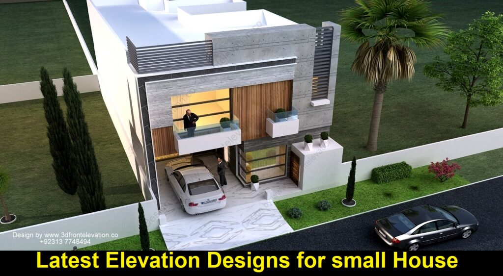 Latest Elevation Designs for small House